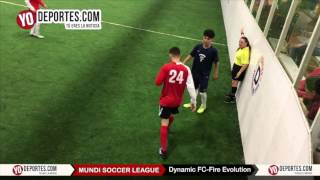 Fire Evolution 6-5 Dynamic FC Final Mundi Soccer League Chitown Futbol