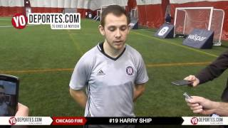 Harry Ship Chicago Fire preseason training camp