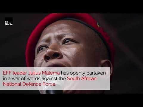 Julius Malema goes to war with SANDF