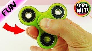 Wie benutze ich einen Fidget Spinner richtig? Einfachster Fidget Spinner Trick Deutsch
