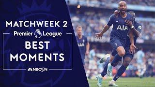 Best Premier League moments from 2019-20 Matchweek 2   NBC Sports