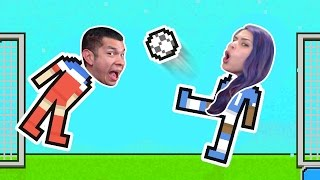 ″IN MY OWN NET″ Soccer Physics - Husband Vs Wife