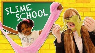 Slime School Teacher vs Silly Students! Sneak Slime in Class! - New Toy School