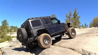 Jeeping The Rubicon Trail - Intense Wheeling Smashing Stuff Camping and Tons of Fun!