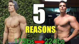 5 REASONS DIETING & BODYBUILDING IS MAKING YOU FAT | JON VENUS