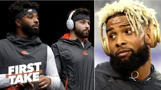Does OBJ make the Browns the most dangerous offense in the NFL? | First Take