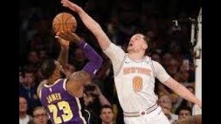 Los Angeles Lakers vs New York Knicks NBA Highlights (March 17th 2019)