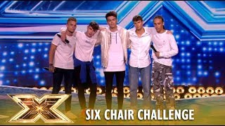 Is This New Boy Band ″Vibe Five″ The BIRTH of NEXT One Direction? | The X Factor UK 2018
