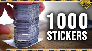Can 1,000 Stickers Catch a Bullet?