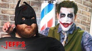 JOKER REVEALS FATMAN'S IDENTITY   Jeff's Barbershop