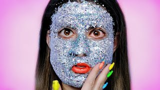Putting 1 Pound Of Glitter On My Face!