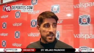 Veljko Paunovic busca actitud en los jugadores del Chicago Fire