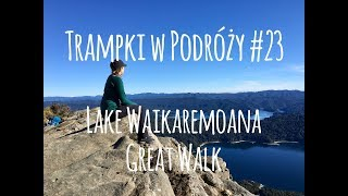 Lake Waikaremoana Great Walk, Nowa Zelandia - Trampki w Podróży #23