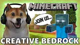 MINECRAFT BEDROCK world! Come join!
