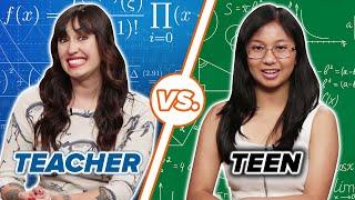 Teachers Vs. Teens: Taking The Same Math Quiz
