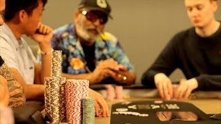 Armenian Mike Gets His Game Out Of The Muck! ♠ Live at the Bike!