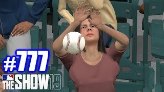 BEST FAN CATCH EVER! | MLB The Show 19 | Road to the Show #777