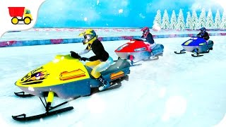 Bike racing games - Speed Bike Snow Racing 2017 - Gameplay Android free games