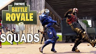 Squads with Subs - Fortnite Battle Royale Gameplay - Season 4 - Xbox One X