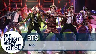 BTS Performs ″Idol″ on The Tonight Show
