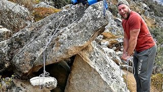 Making A Primitive Mountain Gym at 14,000ft