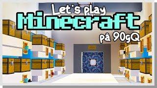 LP Minecraft på 90gQ #98 - Targenias nya hiss!