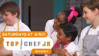 Restaurant Wars FULL OPENING CLIP | Top Chef Junior | Universal Kids