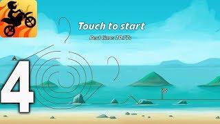 Bike Race Free - Top Motorcycle Racing Games - BEACH Gameplay Walkthrough Part 4 (iOS, Android)