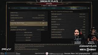 ORIGIN PC PLAYS Mortal Kombat 11 + St. Jude PLAY LIVE!