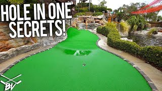 TAKING ON THE HOLE IN ONE CHALLENGES OF SMUGGLERS COVE MINI GOLF!