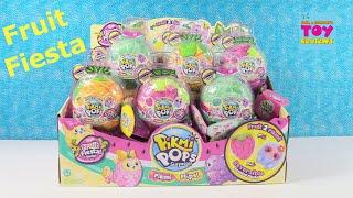 Pikmi Pops Surprise Flips Fruit Fiesta Series Blind Bag Toy Unboxing
