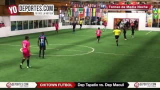 Deportivo Tapatio vs. Deportivo Macuil Torneo de Media Noche Chitown Futbol