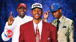 NBA draft fashion history — from Magic's sharp suit to LeBron's all-white attire   NBA Draft