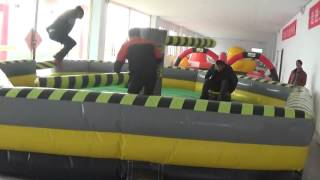 Inflatable action game