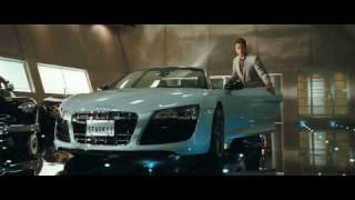 Iron Man 2 Audi R8 commercial