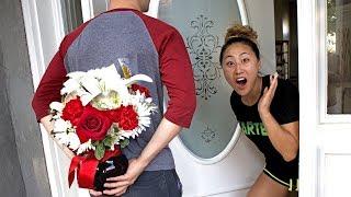 MY SECRET CRUSH GOT ME FLOWERS!!