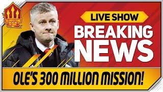 Solskjaer's 300 Million Transfer Race! Man Utd Transfer News