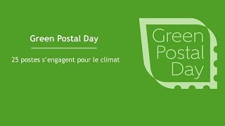 Green Postal Day - Message de Philippe Wahl