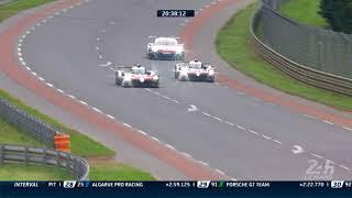 Fernando Alonso prend les commandes des 24 Heures du Mans 2018