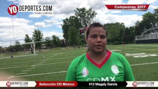 Policia Federal Magaly Garcia la favorita de la final Torneo Internacional Premier en Chicago