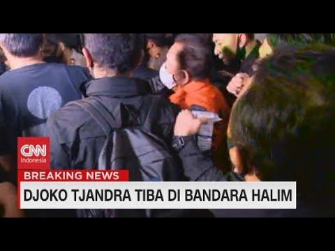Detik-Detik Djoko Tjandra Tiba di Bandara Halim