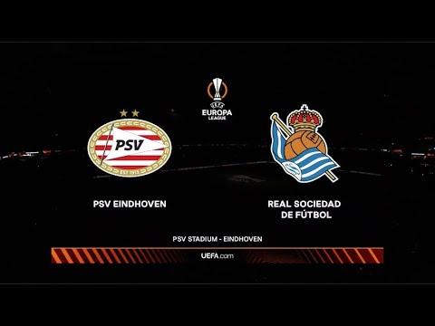 UEFA Europa League | PSV Eindhoven v Real Sociedad | Highlights