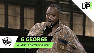 G. George Has The Gift of Gab | Def Comedy Jam | Laugh Out Loud Network