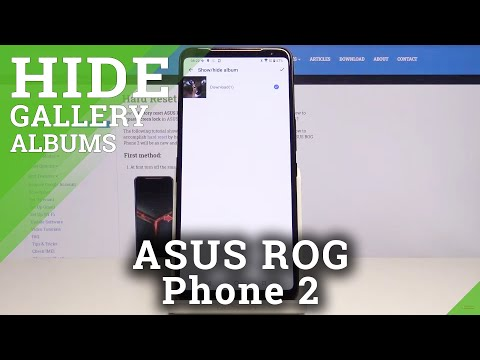How to Hide Gallery Albums in ASUS ROG Phone 2 – Lock Photos