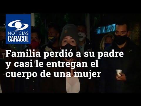Familia en Bogotá perdió a su padre y casi le entregan el cuerpo de una mujer