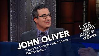 John Oliver Also Went To Russia, And Won't Hurry To Return
