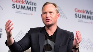 Mark Okerstrom, Expedia Group CEO, at the GeekWire Summit