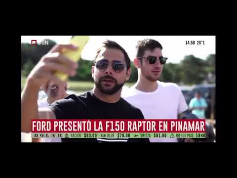 Ford presentó la F150 Raptor en Pinamar