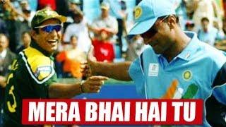 10 Never Seen India vs Pakistan Friendship Moments | Hindi