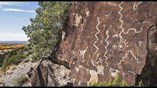 Wells Petroglyph Preserve - Mesa Prieta Petroglyphs - A preserve with 75,000 ancient drawings